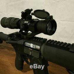 1.5 5x VARIABLE MAGNIFIER & Red Dot Sight with FTS Mount eotech aimpoint scope