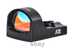 ADE STINGRAY Red Dot Sight For Pistol with Holosun 407C/507C/508T Footprint