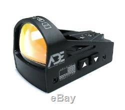 Ade RD3-012 Waterproof RED Dot Reflex Sight for GLOCK 17 19 20 22 26 ect pistols