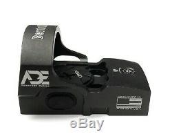 Ade RD3-013 Red Dot Reflex Sight for GLOCK MOS 17 19 34 35 40 41 Pistol Handgun