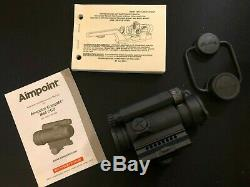 Aimpoint CompM4 Red Dot Sight With/ Picatinny Rail Adapter