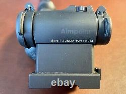 Aimpoint T-2 Red Dot Sight With Larue Lower 1/3 QD Mount