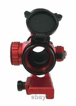 Anodized Red Finish 35mm Red Green Dot Reflex Optic Sight Aluminum 6063
