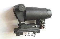 BELOMO PK-AS W RED DOT / BLACK DOT Rifle Scope WEAVER PICATINNY COLLIMATOR SIGHT