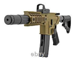 Bushmaster Crosman MPW Full Auto CO2 BB Gun Air Rifle with Red Dot Sight (Refurb)