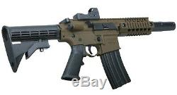Bushmaster MPW Full Auto CO2 Powered BB Gun Air Rifle with Red Dot Sight (BMPWX)