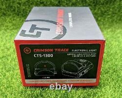 Crimson Trace Compact Reflex Red Dot Sight, 3.5 MOA, Picatinny Mount CTS-1300