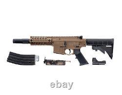 Crosman Bushmaster MPW. 177 Caliber BB, 1400 Rounds/Min, 3 MOA Red Dot BMPWX