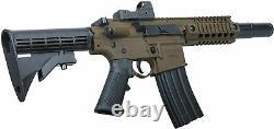 Crosman Bushmaster MPW. 177 Caliber BB 1400 Rounds/Min 3 MOA Red Dot BMPWX