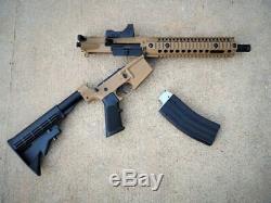 Crosman R1 Full/Semi Auto BB Air Rifle with Red Dot Sight CFAR1X New 25 rd mag