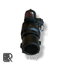ELCAN SpectorDR 1X/4X Scope Red Dot Illuminated Sight + RMR Metal Airsoft BLK