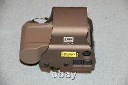 EOTech EXPS3-0TAN Holographic Weapon Sight, red circle-dot, FDE tan, QD mount