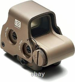 EOTech EXPS3 Red Dot Sight, Tan with 2-Dot Reticle EXPS3-2TAN