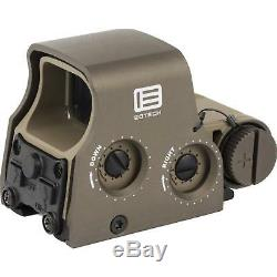 EOTech Tactical Holographic XPS2 Red Dot Sight, Tan, withCR123 battery
