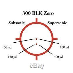 EOTech Transverse Red Dot Sight, Black, XPS2-300 Blackout/Whisper Holographic