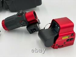 EOtech Replica Clone Red 558 G33 Magnifier Red Dot Holographic Sight Scope