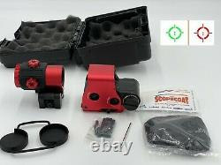 EOtech Replica Clone Red 558 G43 Magnifier Red Dot Holographic Sight Scope