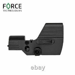 Force Reflex Red Dot Sight RDS 1x35mm with 2-button operation, red/green 4MOA