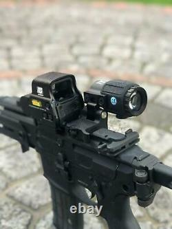G43 3x Sight Magnifier With Switch To Side Qd Mount + 558 Red Green Dot Clone