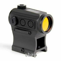 HOLOSUN HS403C Solar Power Micro Red Dot Sight Black