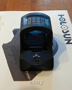 HOLOSUN HS507C-X2 LED Red Dot Sight LNIB with Extras