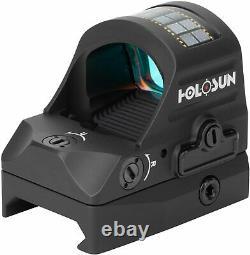 HOLOSUN HS507C-X2 LED Red Dot Sight Open Reflex Multi Reticle Scope For Pistol