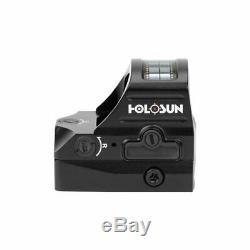 Holosun HS407C-V2 2 MOA Red Dot Sight Black