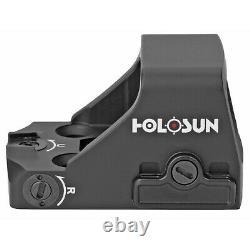 Holosun HS407K-X2 Red Dot Reflex Sight Pistol 6 MOA DOT fits RMSc Footprint