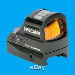 Holosun HS507C Micro Red Dot Reflex Sight Solar Panel Circle Dot Brand New