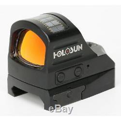 Holosun HS507C Micro Red Dot Reflex Sight Solar Panel Circle Dot NEW