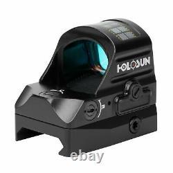 Holosun HS507C-V2 Red Dot Sight, 2 MOA Dot, Black, HS507C-V2
