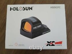 Holosun HS507C-X2 Red Dot Reflex Sight for Pistol withRMR cut slide