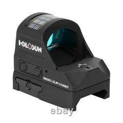 Holosun HS507C X2 Reflex Red Dot Sight 1x Selectable Reticle Weaver Mount Solar