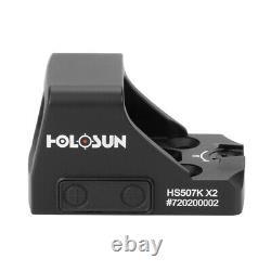 Holosun HS507K-X2 Red Dot Reflex Sight for Pistol
