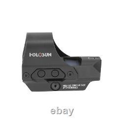 Holosun HS510C MOA Open Reflex Circle Dot SolarPower Holographic Red Dot Sight