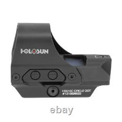 Holosun HS510C Reflex Red Dot Sight with Lens Cleaning Pen and Cloth Bundle
