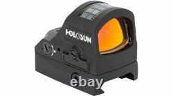 Holosun Mini HS407C 2 MOA Red Dot Sight Black