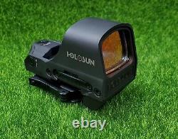 Holosun Open Reflex Illuminated 2 MOA Dot & 65 MOA Circle Red Dot Sight HS510C