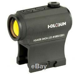 Holosun Paralow Red Dot Sight, 2 MOA Dot HS403B