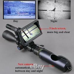 Hunting Optics Red Dot Sight Rifle ScopeTactical Digital Lnfrared Night Vision u