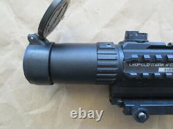 Leupold Mark 4 CQ/T 1-3x14 Red Dot Scope 1.3x14