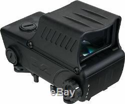 Meprolight Tru-Dot RDS Pro Mil-STD Red Dot Sight, Black Mepro TruDot RDS PRO