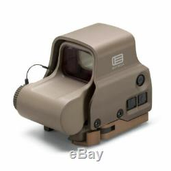 NEW EOTech HOLOGRAPHIC WEAPON SIGHT EXPS3-2 TAN 2 1-MOA RED DOT 65 MOA RING