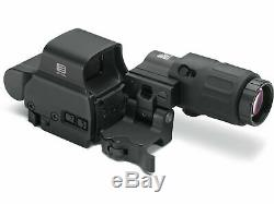 New EOTech HSS2 EXPS2-2 Black Holographic Holo Red Dot Sight + G33. STS Magnifier