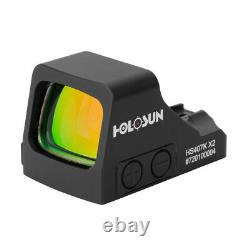 New Holosun Red Dot Handgun Reflex Sight 6 MOA Dot HS407K X2
