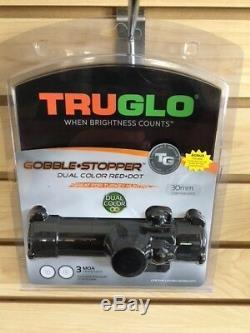 New Truglo Red Dot Gobble Stopper Turkey Sight 30mm Scope TG8030GB