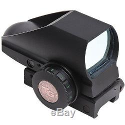 New Truglo Tru Brite Open Red Dot Sight 5 MOA Reticle Dual Color TG8385B