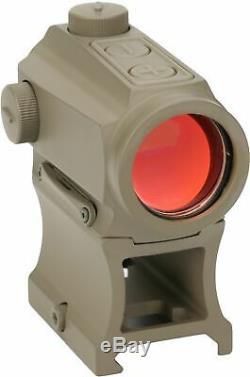 OpticsPlanet Exclusive Holosun Red Dot Sight, Flat Dark Earth, HS403B-FDE