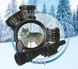 PK-AS Collimator BelOMO RUSSIAN Scope Optical Rifle Sight Red Dot Side mount