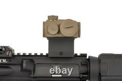Primary Arms SLx Advanced Rotary Knob Microdot Red Dot Sight FDE